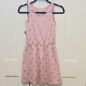 GAP Dress - Pink Sleeveless with Glittery Stars